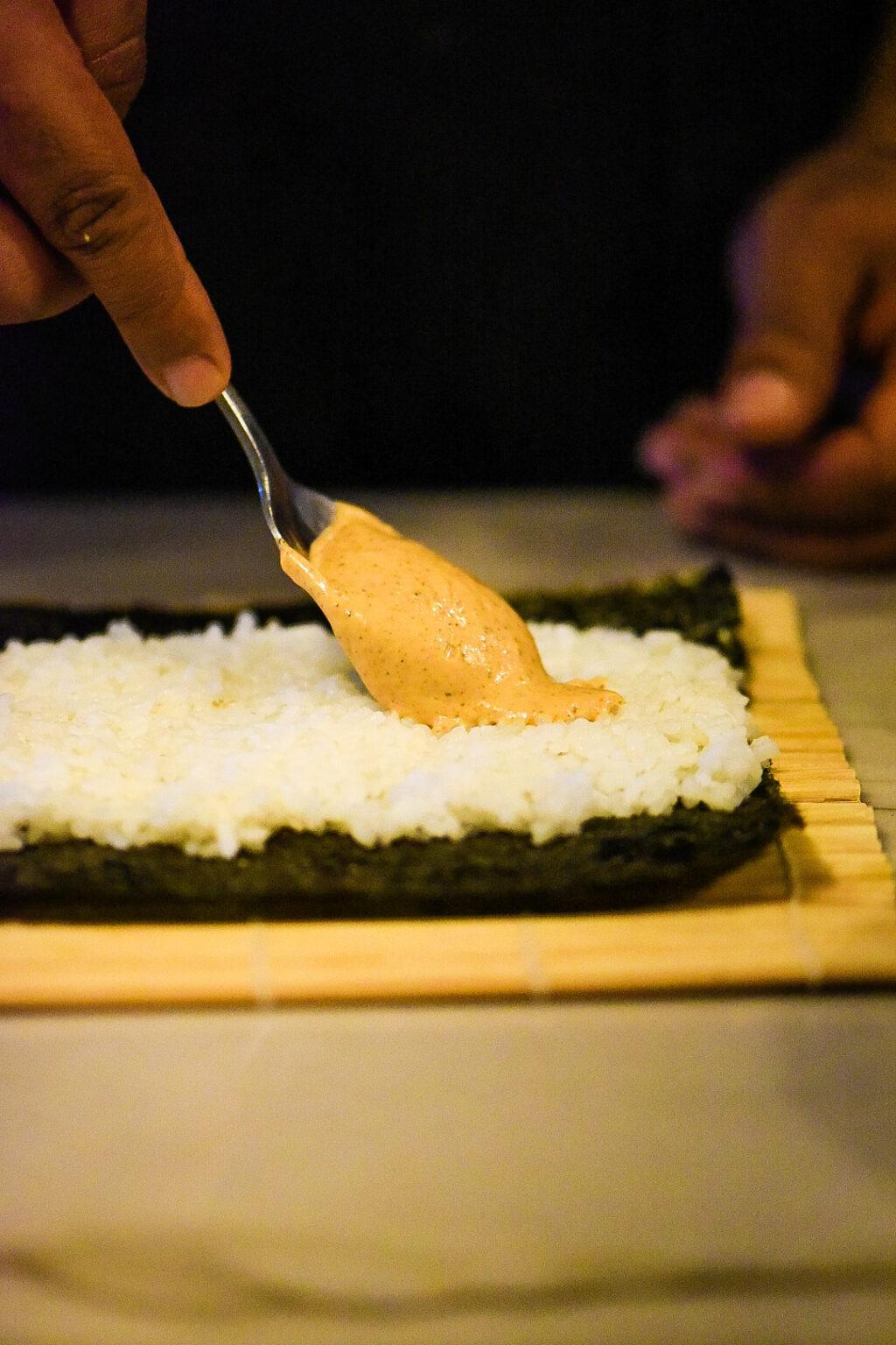 Smoked Salmon Sushi Burrito