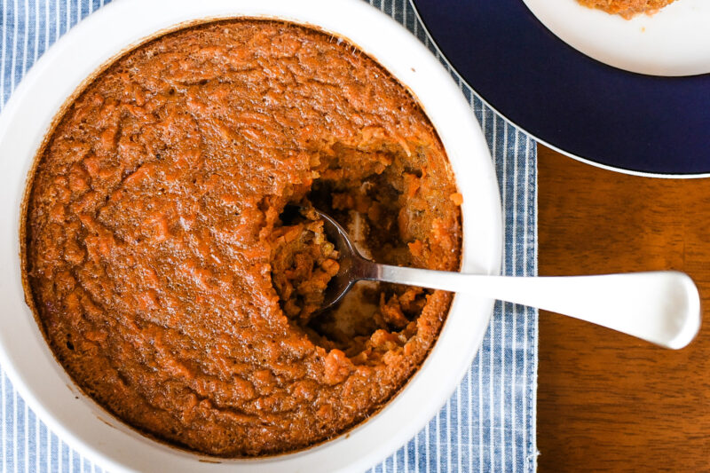 Easy Carrot Soufflé