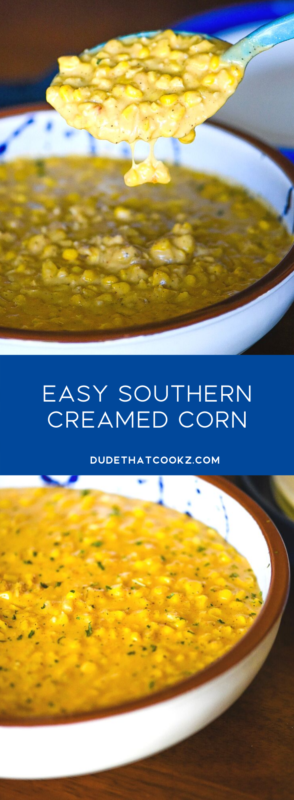 easy southern creamed corn