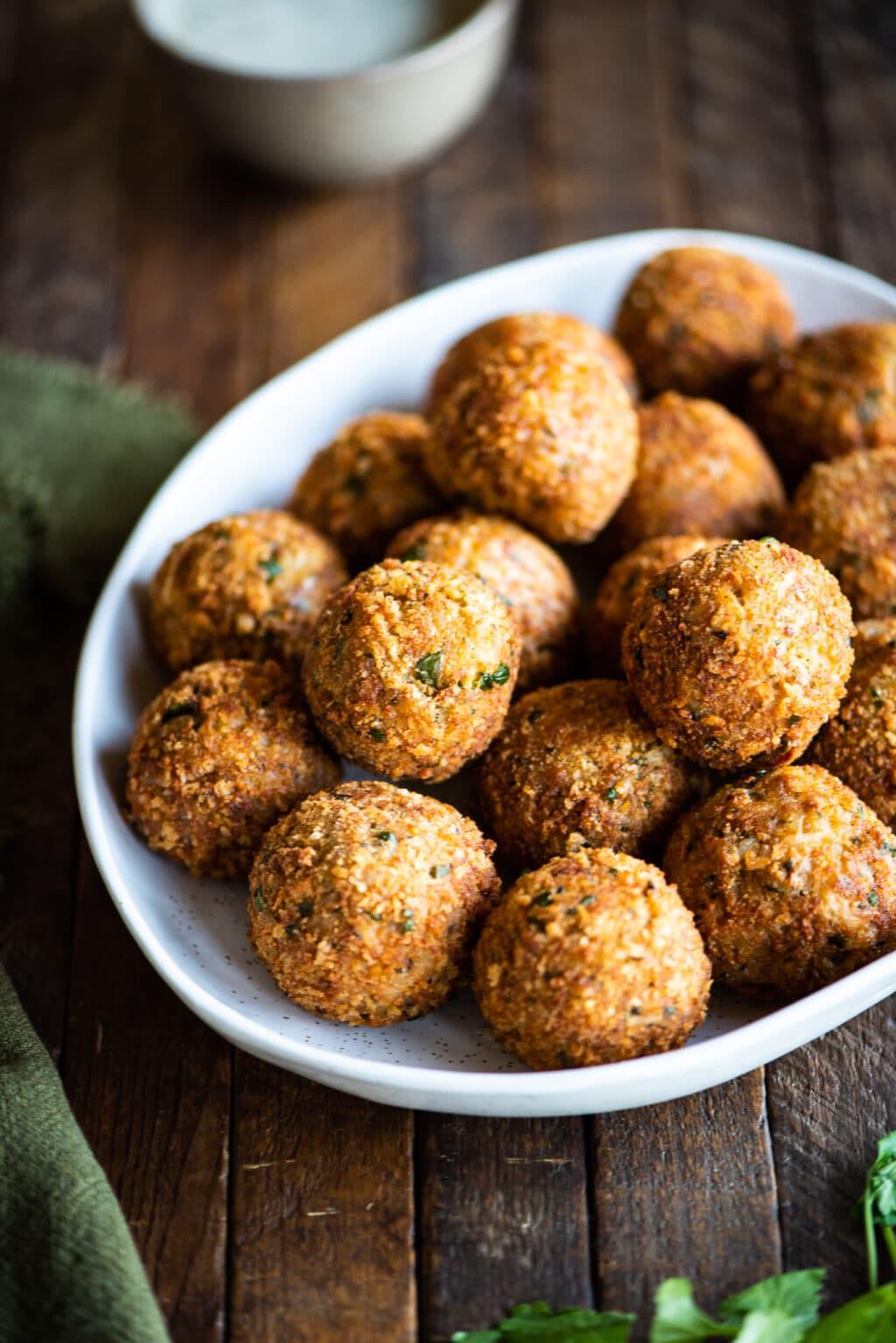 arancini Sicilian rice balls