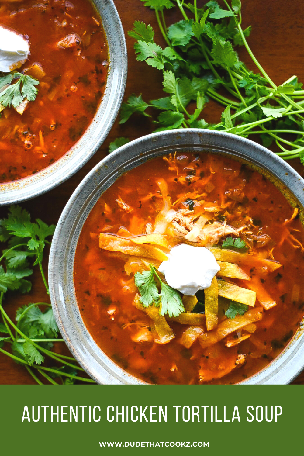 Authentic Chicken Tortilla Soup