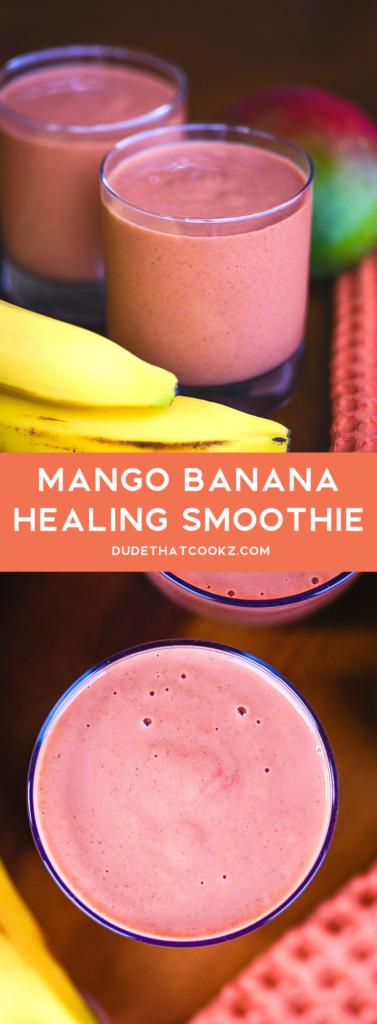 Mango Banana Healing Smoothie