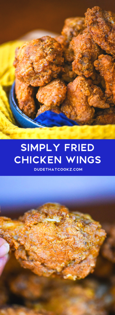 Simply Fried Chicken Wings