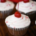 Cherry Lemonade Cupcakes