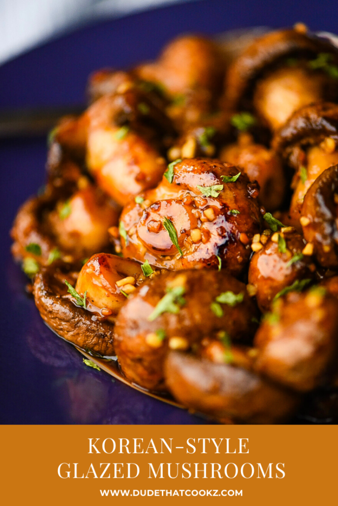 Korean-Style Glazed Mushrooms