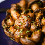 Korean-Style Glazed Mushrooms