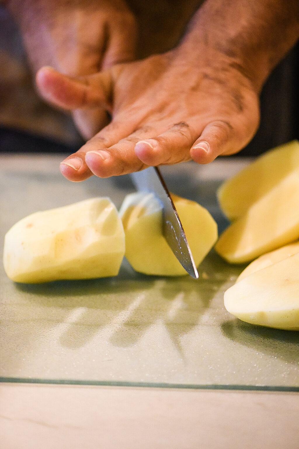 Creamy Cheddar Mashed Potatoes