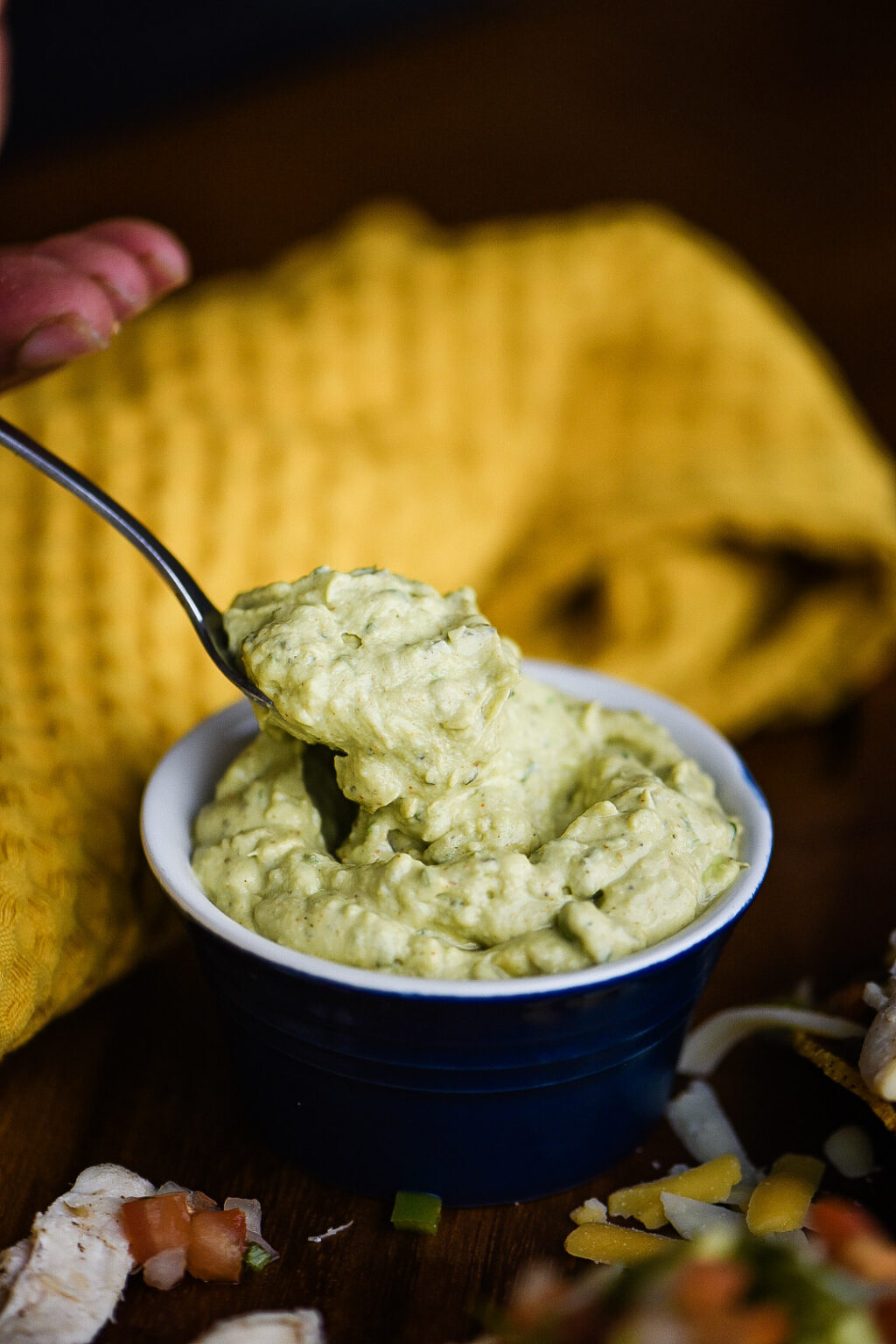 avocado cream sauce