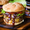 Double BBQ Cheddar Burger