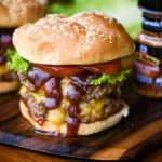 Double BBQ Cheddar Burger