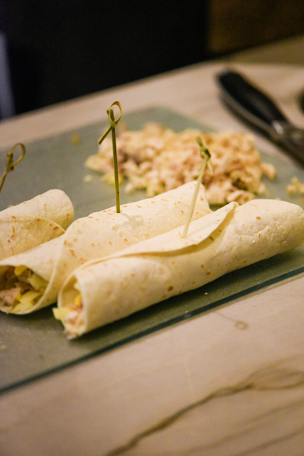 Shredded Chicken Flautas