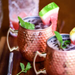 Watermelon Moscow Mule Cocktail