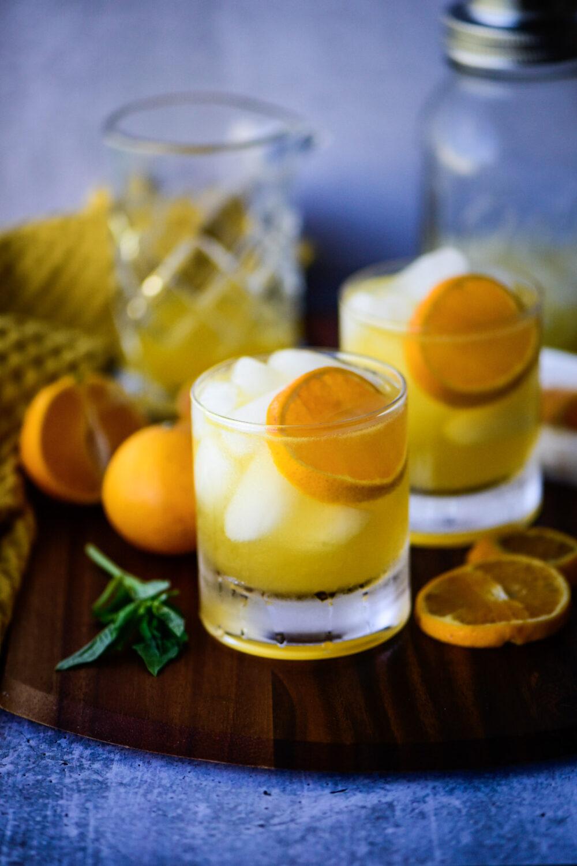 Mandarin Orange Crush Cocktail