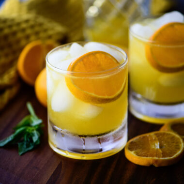 Mandarin Orange Crush Cocktail
