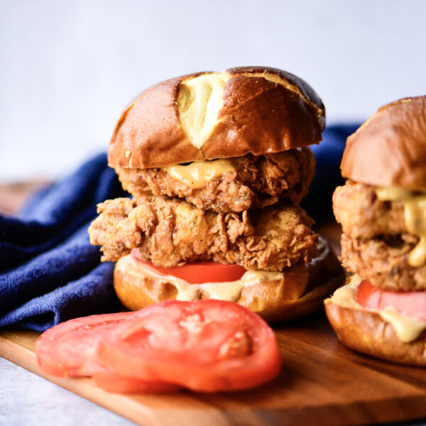 Spicy Cajun Chicken Sandwich