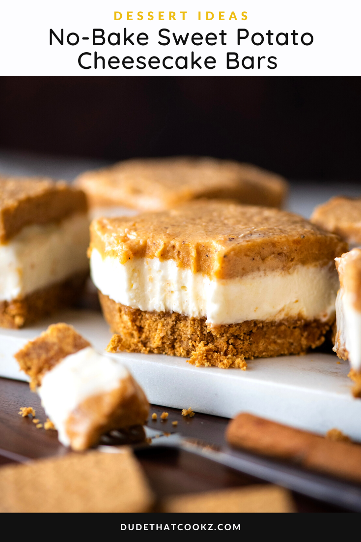 No-Bake Sweet Potato Cheesecake