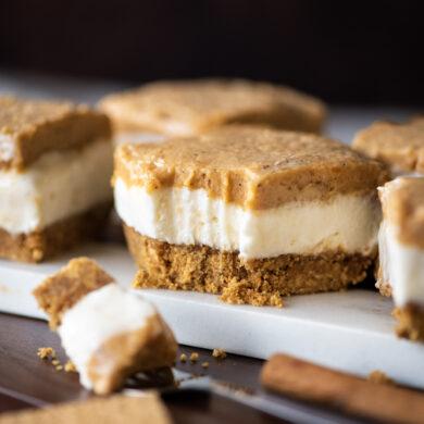 No Bake Sweet Potato Cheesecake Bars