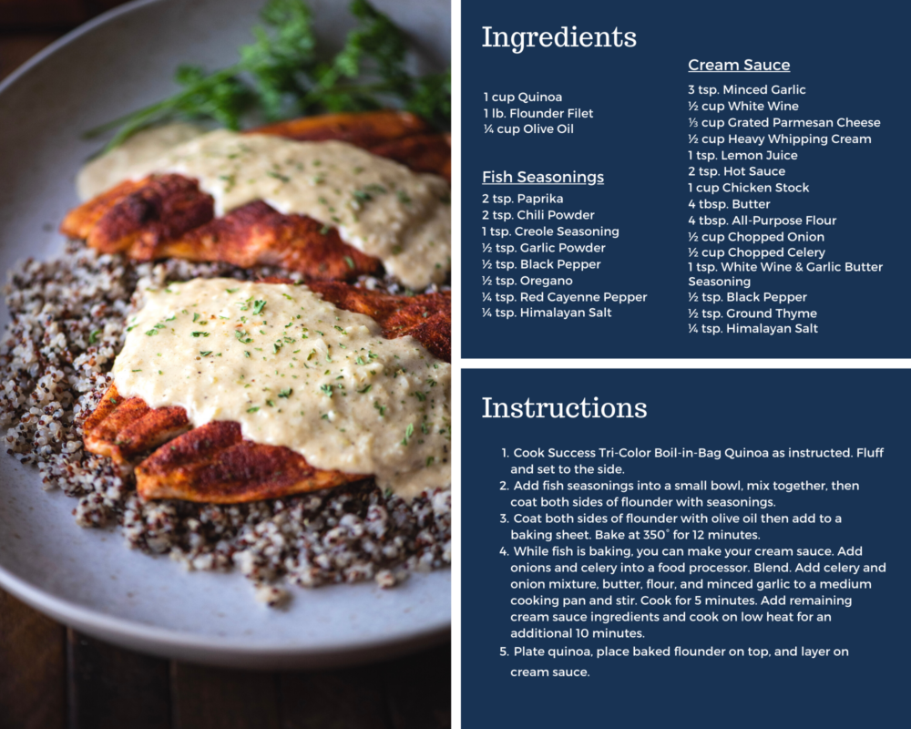 baked flounder with ponchatrain sauce recipe instructions