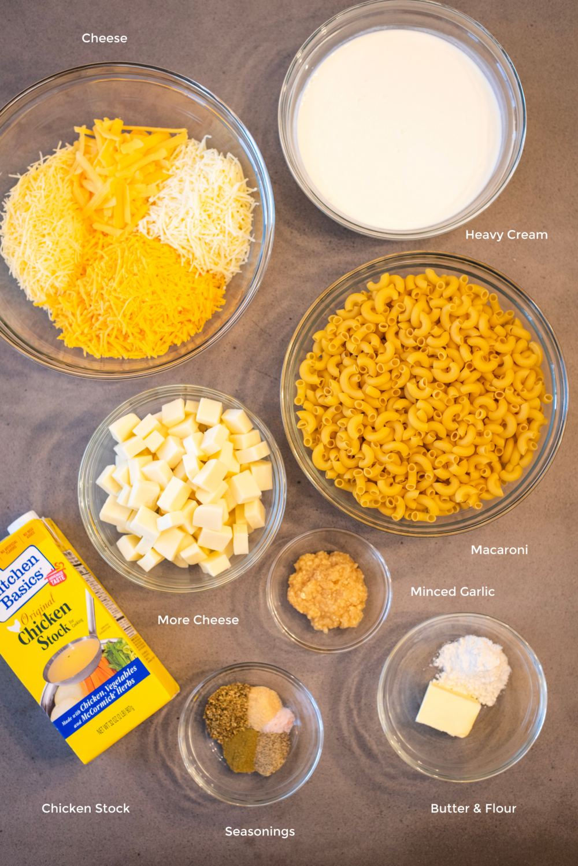 macaroni recipe ingredients