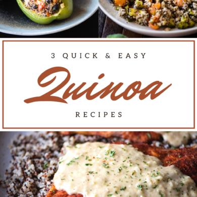 quinoa three ways