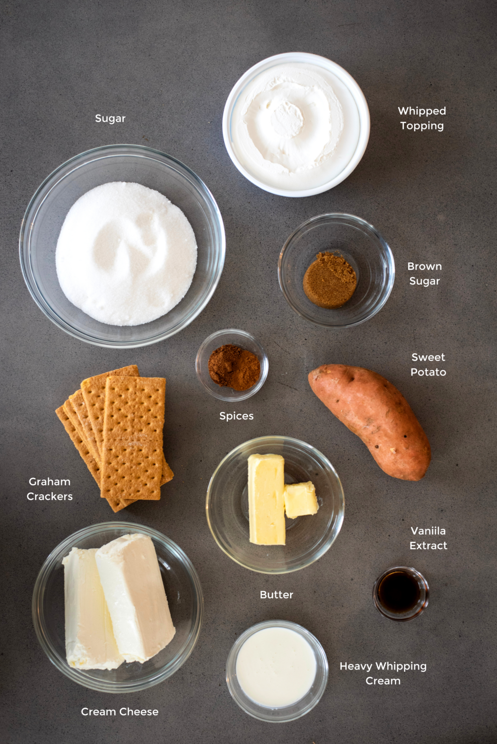 sweet potato cheesecake ingredients