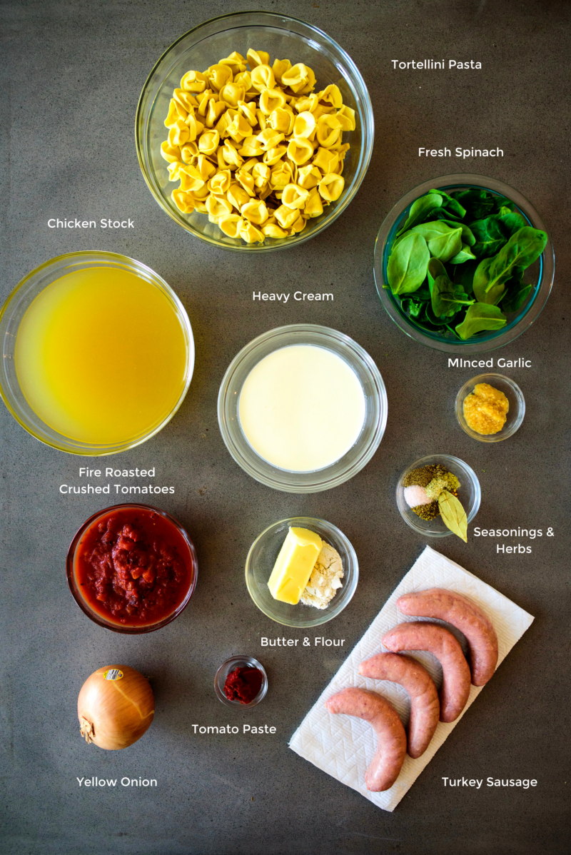 tortellini pasta ingredients