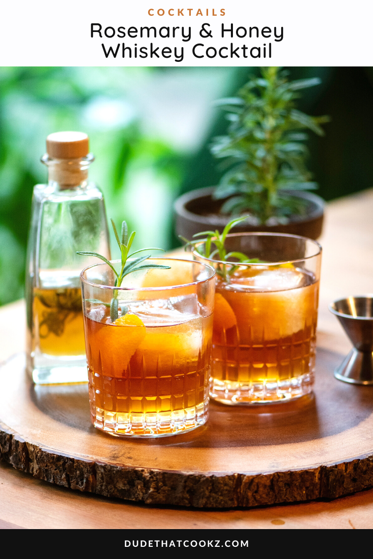 Rosemary & Honey Whiskey Cocktail