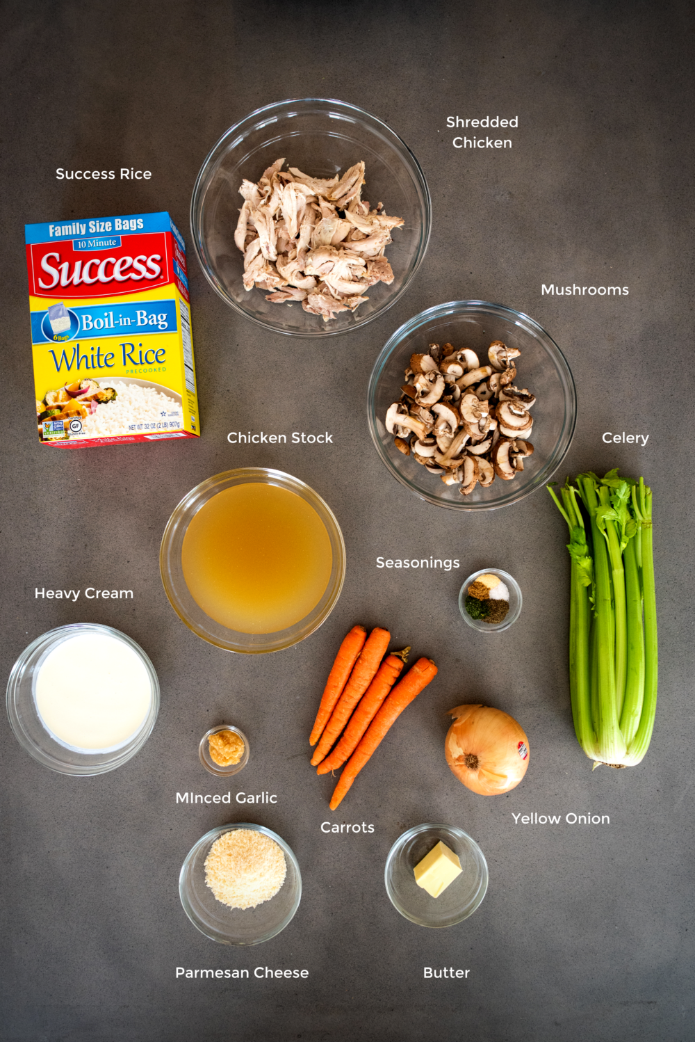 chicken rice soup ingredients