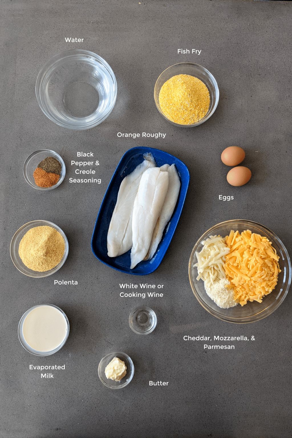 fish and grits ingredients